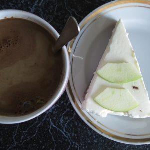 Чизкейк с кофе