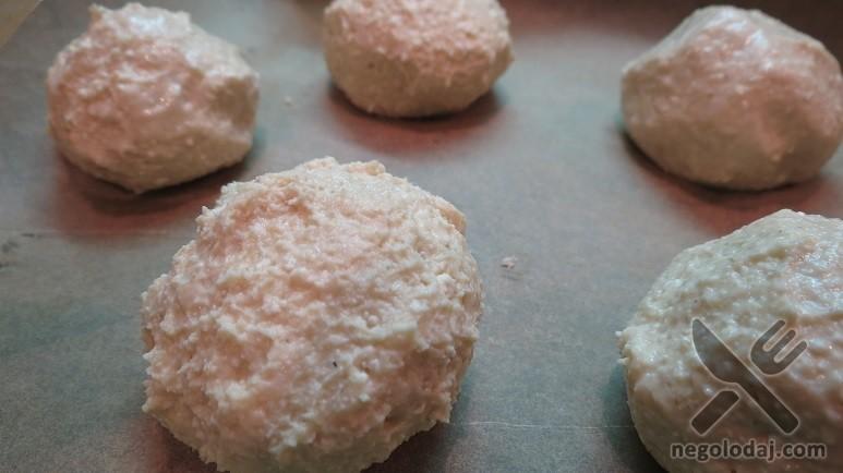 Заготовка под творожные булочки