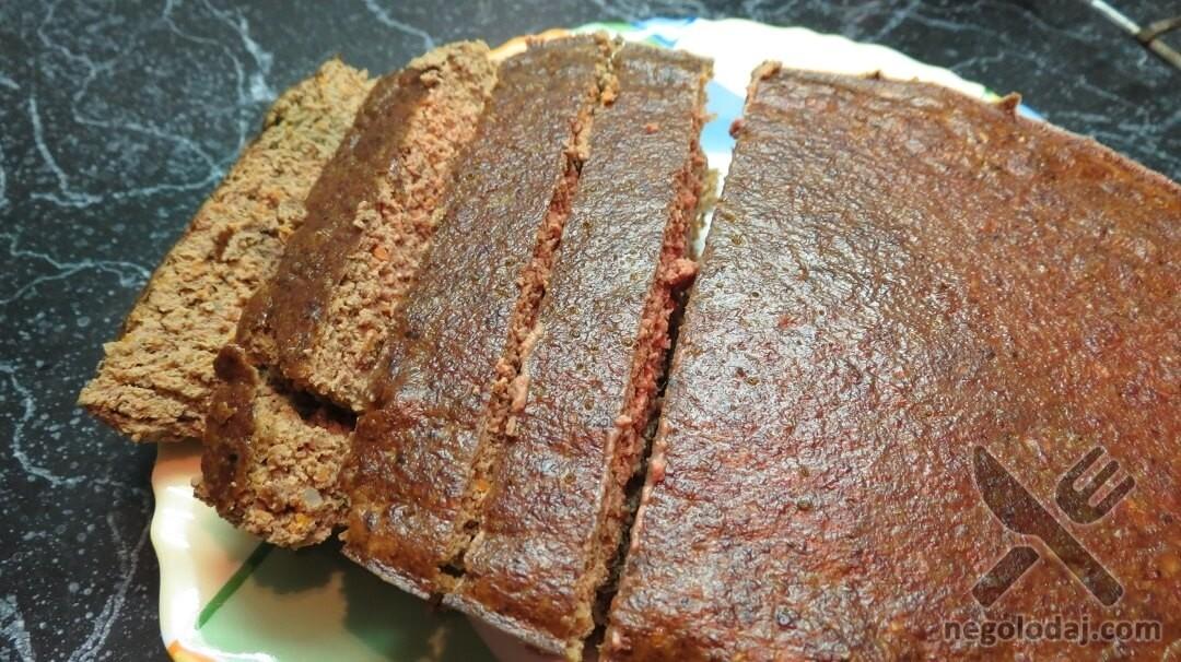 Рецепт печеночного суфле