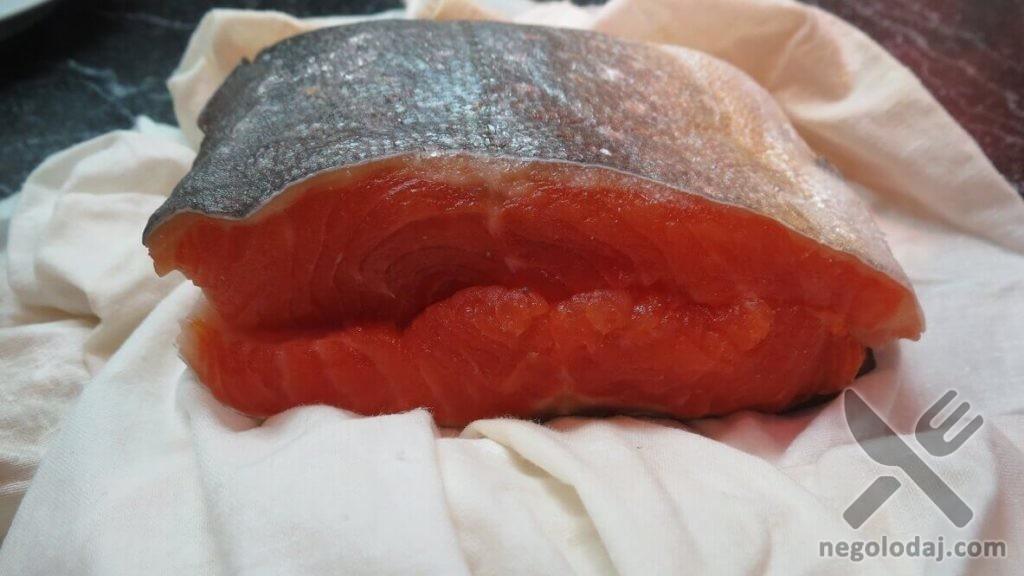 Домашняя красная рыба