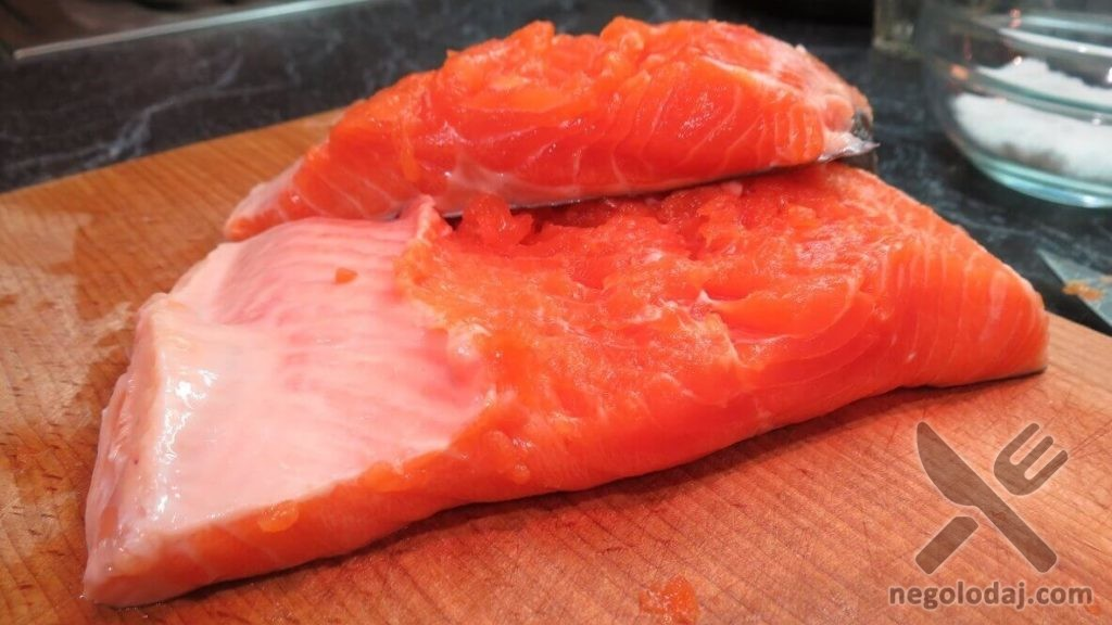 Рецепт красной рыбы