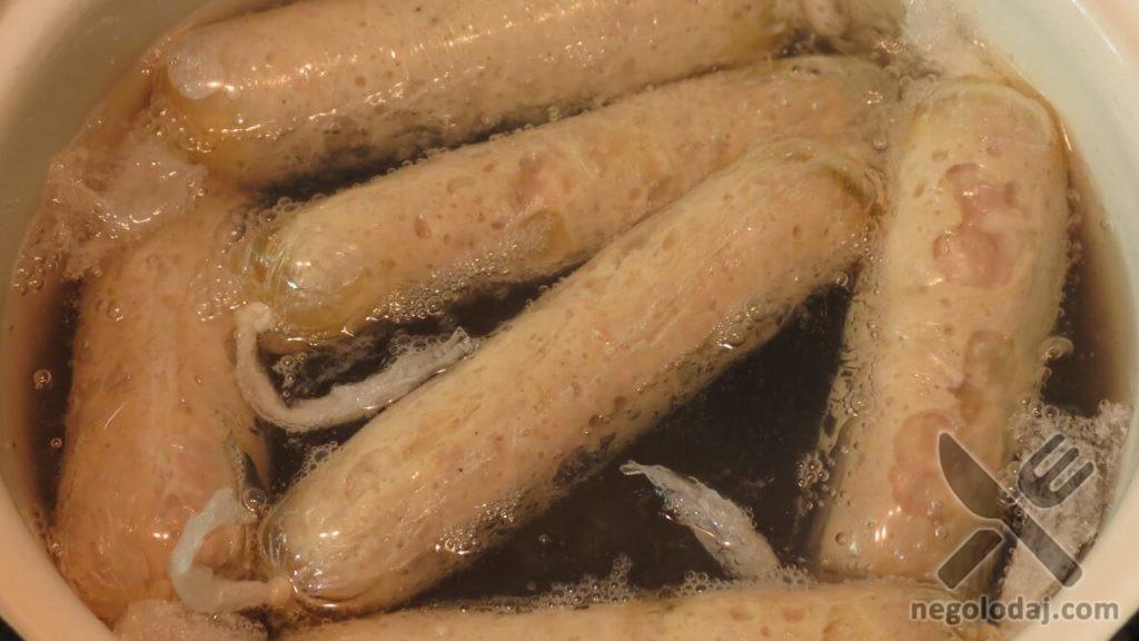 Приготовление домашних ПП сосисок