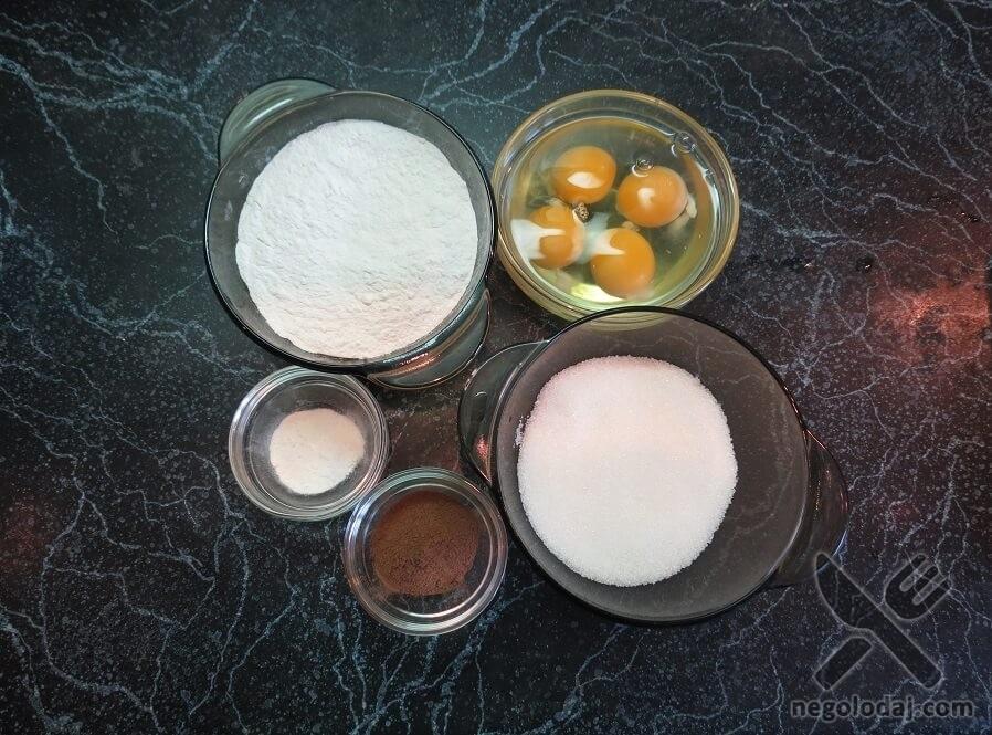 Ингредиенты для кейк попсов