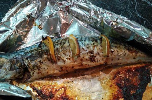 Как сделать скумбрию в духовке