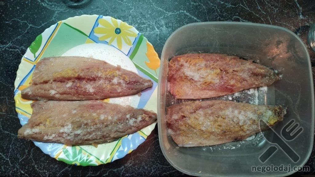 Рыбный балык дома рецепт