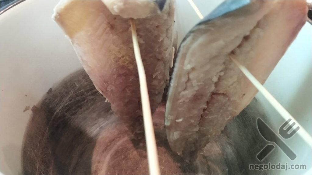 Рыбный балык простой рецепт