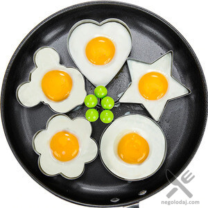 Форма для яиц - металл. Миниатюра