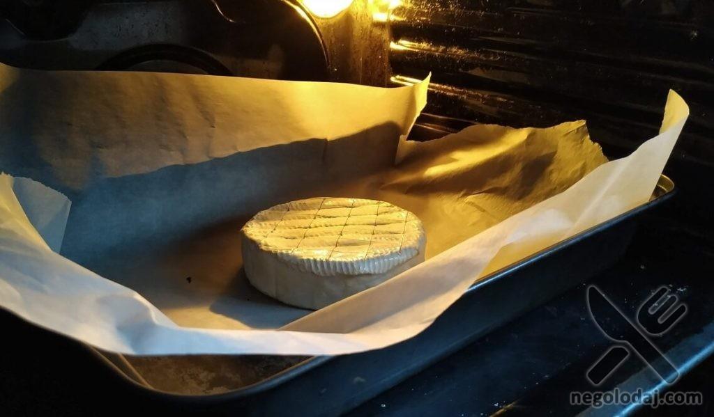 Рецепт сыра в духовке