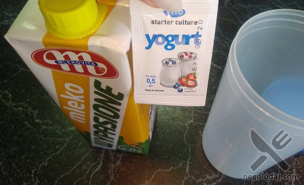 Закваска йогурт в йогуртнице
