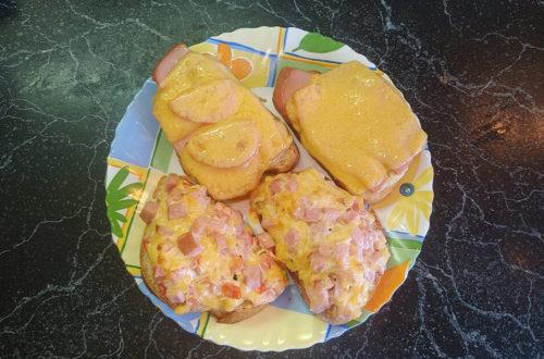 Обалденный рецепт горячих бутербродов в духовке