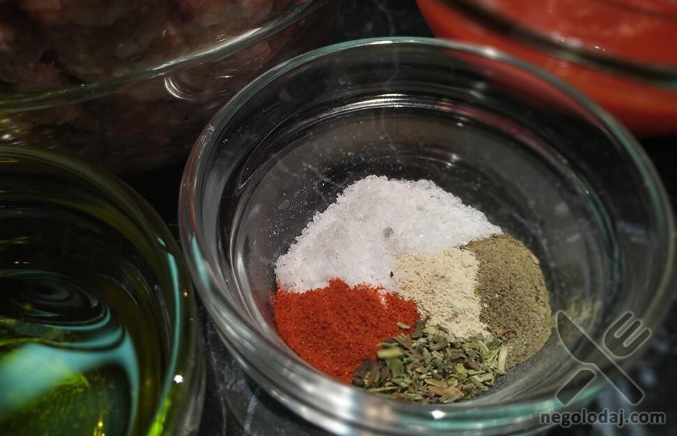 Специи для капусты с фаршем и рисом