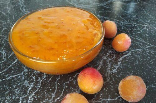 Готовый абрикосовый джем