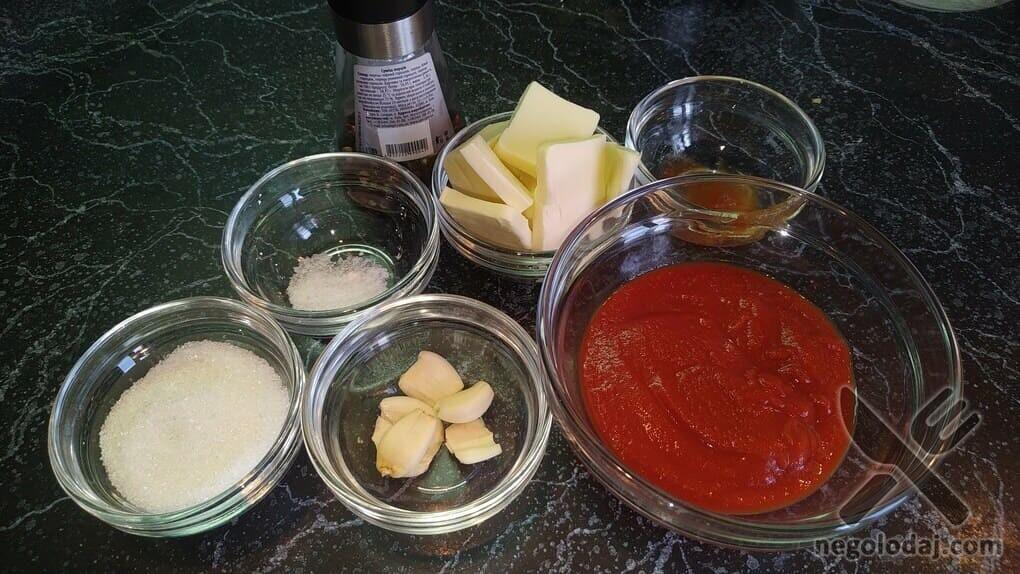 Ингредиенты для соуса Баффало