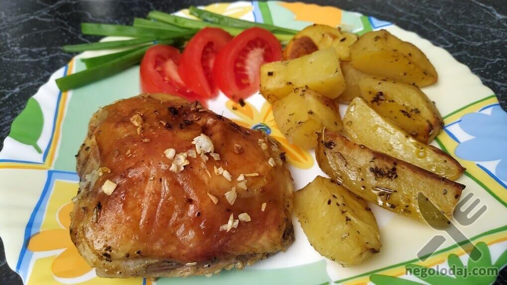 Простой рецепт с картошки и курицы