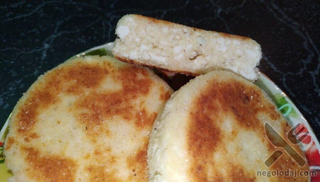 Сырник в разрезе