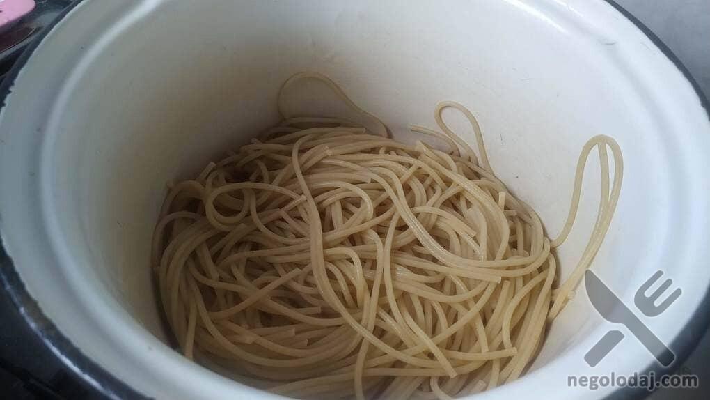 Варенные спагетти