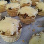 Жульєн з куркою і грибами в тарталетках