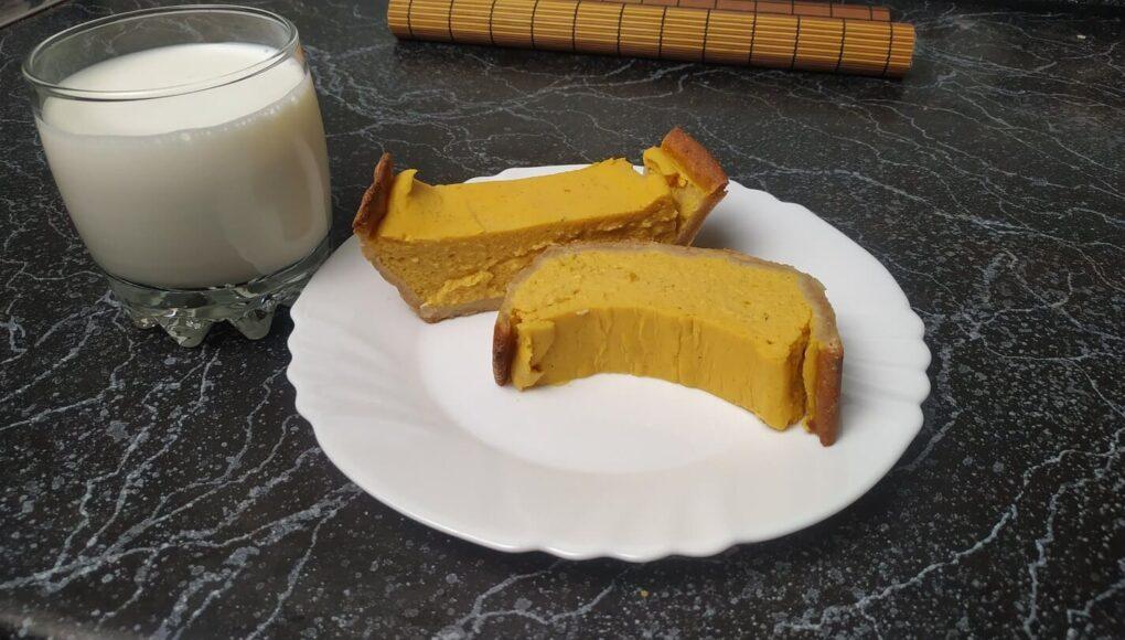 Муссовый тыквенный пирог