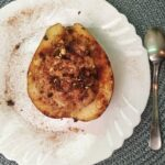Honey-Baked Pears With Cinnamon Ricotta