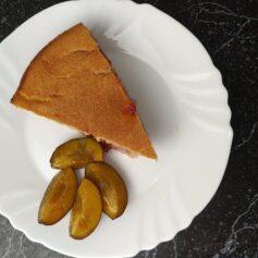 Пиріг зі сливами ПП