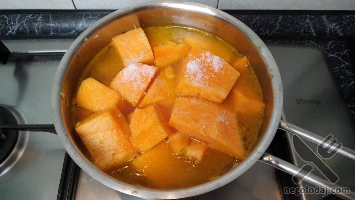 Солим тыквенный крем-суп