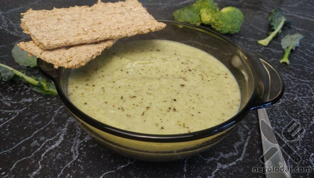 Готовый суп пюре из брокколи