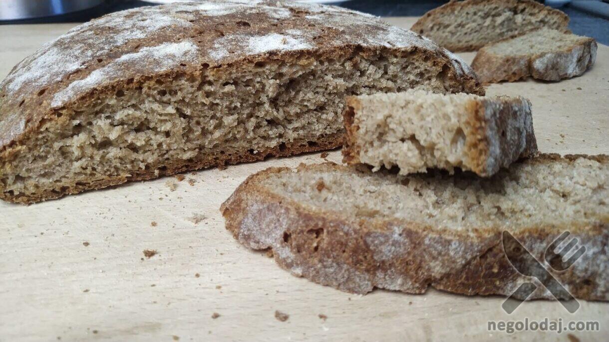 Невероятно вкусный домашний хлеб