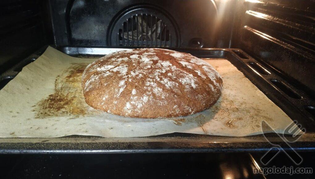 Выпекаем домашний хлеб в течение 45 минут